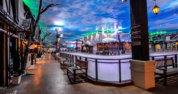 NATAL LUZ na Serra Gaúcha + SNOWLAND: 4 Nts com Café!!