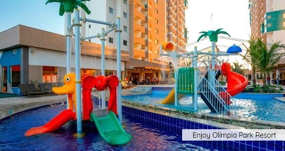 THERMAS DOS LARANJAIS com HOTEL p/ CASAL + 2 Crianças