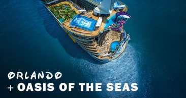 13 Noites: Orlando + Royal OASIS OF THE SEAS pelo CARIBE