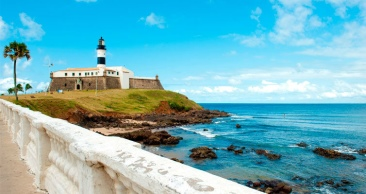 4 Nts: SALVADOR LUXO Vista Mar + City Tour HISTÓRICO!!