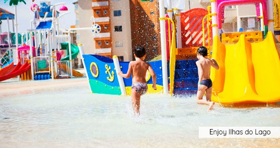 CALDAS NOVAS com Meia Pensão + Parque Aquático