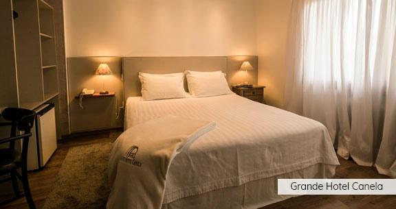 CANELA em Hotel TOP + GRAMADO + Vinícola MIOLO e TORCELLO