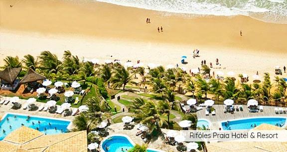 RESORT Pé na Areia em NATAL: Aéreo + 5 Noites com Café!!!