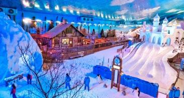 SERRA GAÚCHA: Aéreo + 4 Noites com Bustour e SNOWLAND!!!
