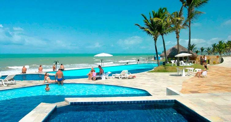 NATAL TOP em Hotel 4 Estrelas PÉ NA AREIA + Café - 5 Nts