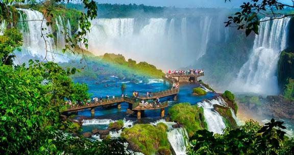 RÉVEILLON TOP em FOZ: Cataratas + Dream Land + ARGENTINA
