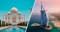 10 Noites: ÍNDIA & DUBAI 5 ESTRELAS + SAFARI NO DESERTO