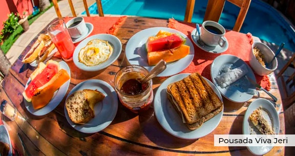 JERI COMPLETA com VOO DIRETO + Hospedagem + Café da Manhã