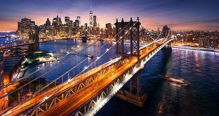 NOVA IORQUE COMPLETO + Passeio ao Alto e Baixo MANHATTAN!