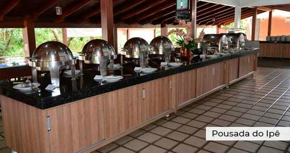 POUSADA em CALDAS NOVAS + Passagem Aérea + 4 Nts com Café