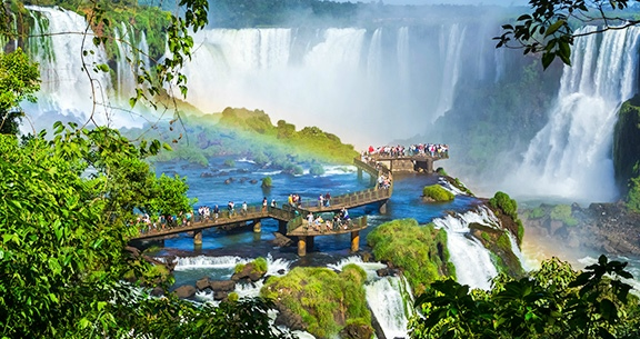 Viaje Ainda ESSE ANO! Voo DIRETO + CATARATAS + PARAGUAI