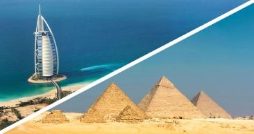 COMPLETO: DUBAI & EGITO com SAFARI NO DESERTO e mais!
