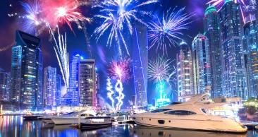 REVÉILLON em DUBAI com 7 Noites em PACOTE COMPLETO