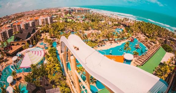 PACOTE FORTALEZA com HOTEL TOP + BEACH PARK + CARRO