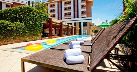 ARACAJU em HOTEL 4 ESTRELAS + TRASLADO e PASSEIO