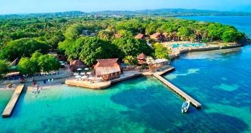 PACOTE RÉVEILLON no CARIBE COLOMBIANO: 4 NOITES + CEIA