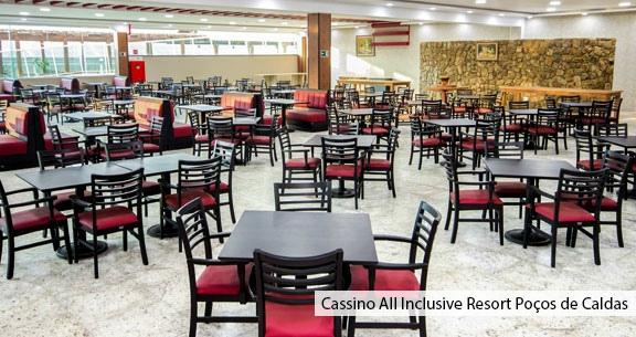 RESORT ALL INCLUSIVE com CASSINO em POÇOS DE CALDAS