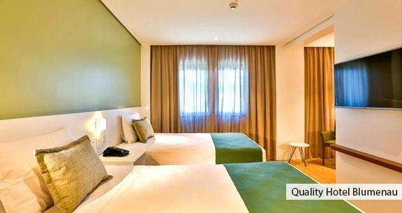 Preço Inacreditável: BLUMENAU em HOTEL TOP + JEEP COMPASS