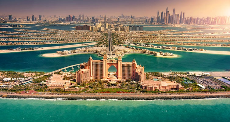 DUBAI com CRUZEIRO MSC pelos EMIRADOS ÁRABES UNIDOS