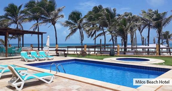 BEACH PARK: Hotel PÉ NA AREIA + TRASLADOS e INGRESSO