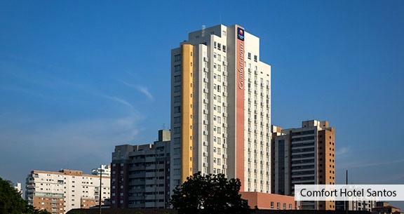 FINAL DE SEMANA em SANTOS: HOTEL TOP com Café da Manhã