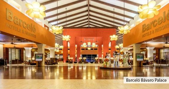 PUNTA CANA no Barcelo Bávaro Palace 5* com ALL INCLUSIVE